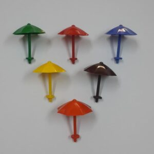 50 şemsiye renkli