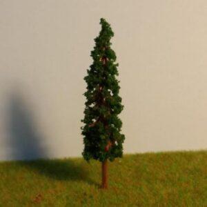 ağaç5,5cm koyu yeşil
